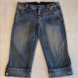Armani Exchange AX denim jean Capri jeans …
